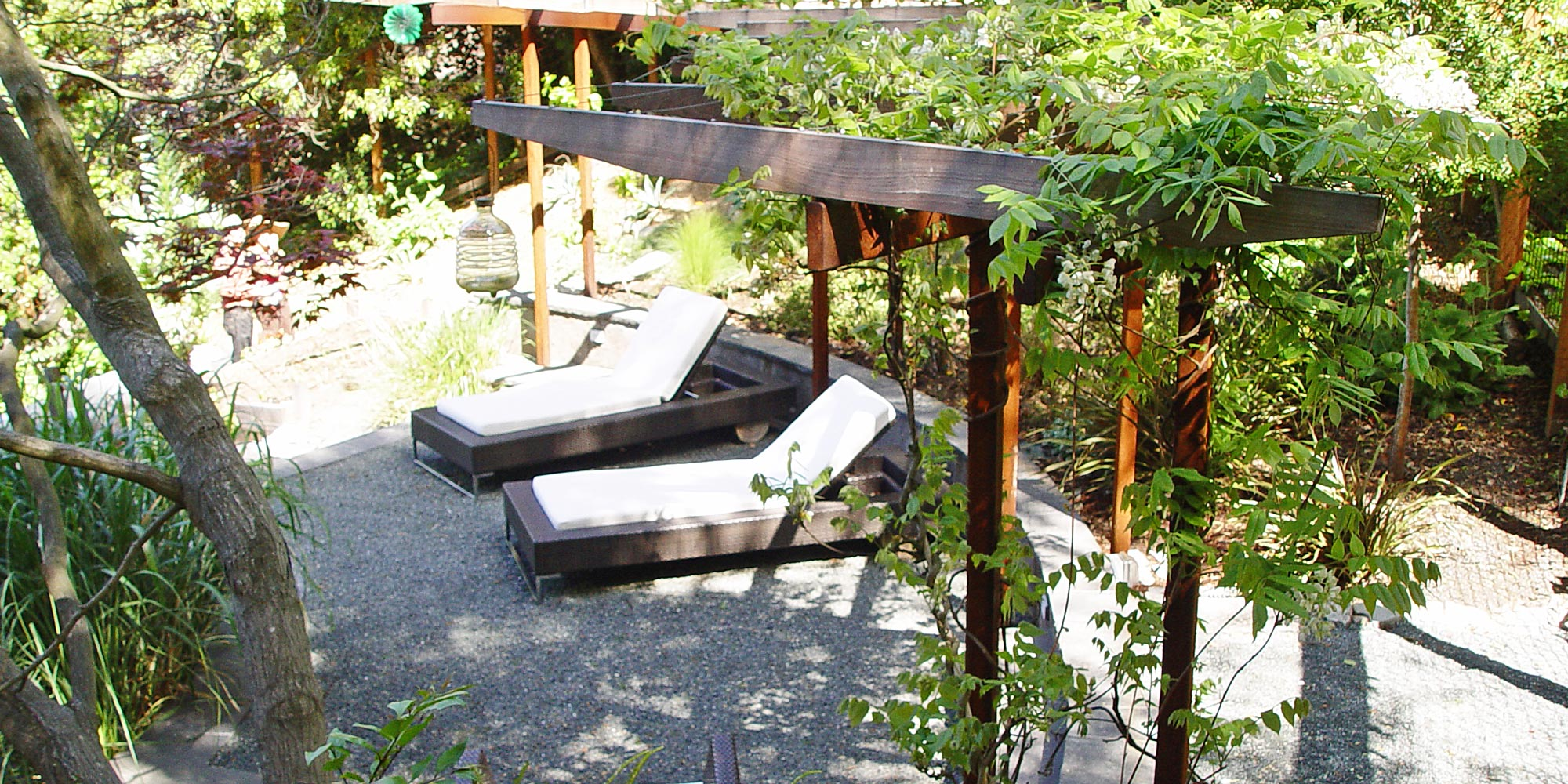 Garden Furniture East Bay an east bay landscape - simmonds & associates, inc.