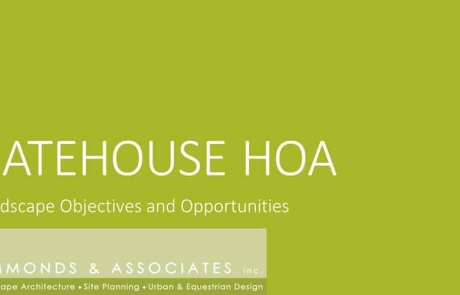 Gatehouse HOA Title Page
