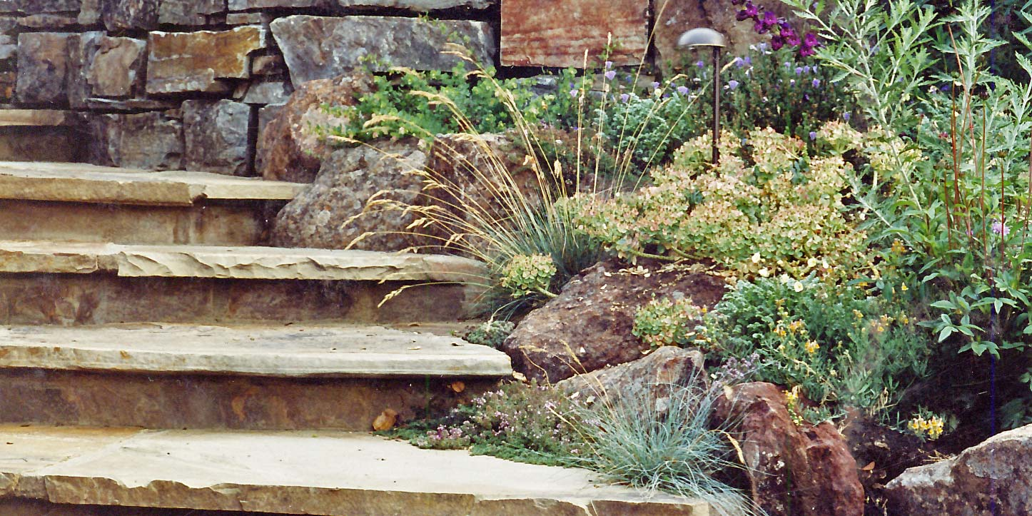 Planted Steps
