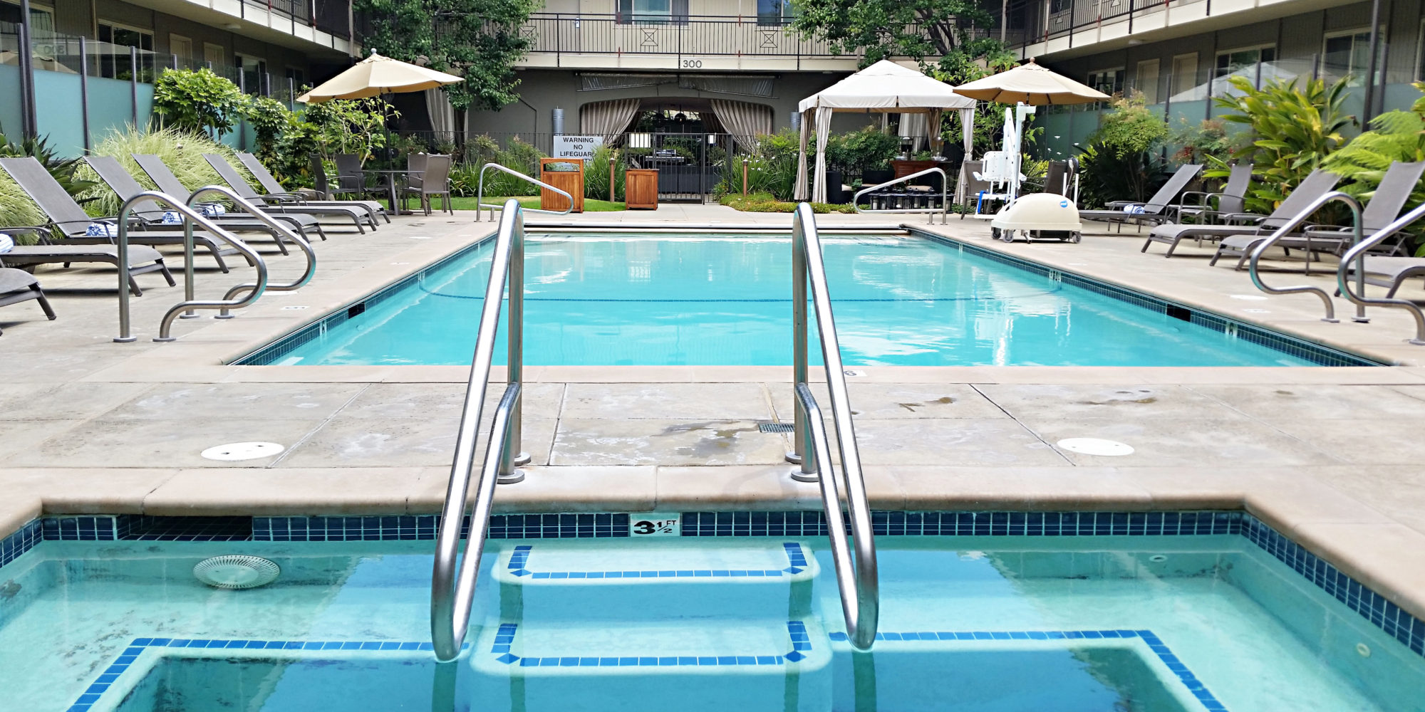 Pool and Spa